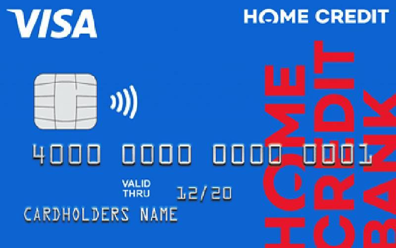 Банковская карта homecred