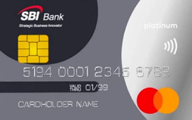 дебетовая карта SBI Банка